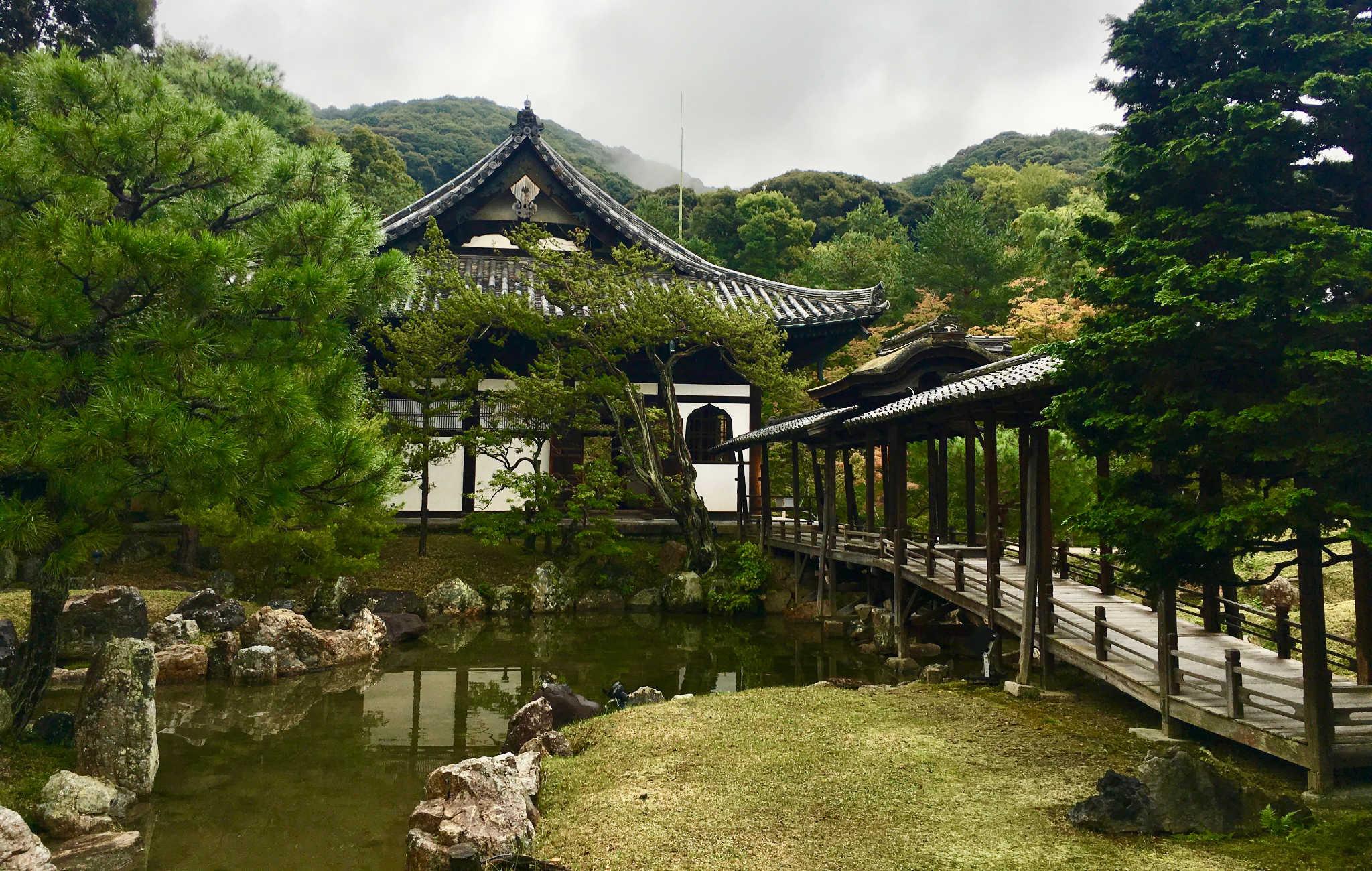 Le Kodai-ji est réellement un jardin qui envoie du rêve