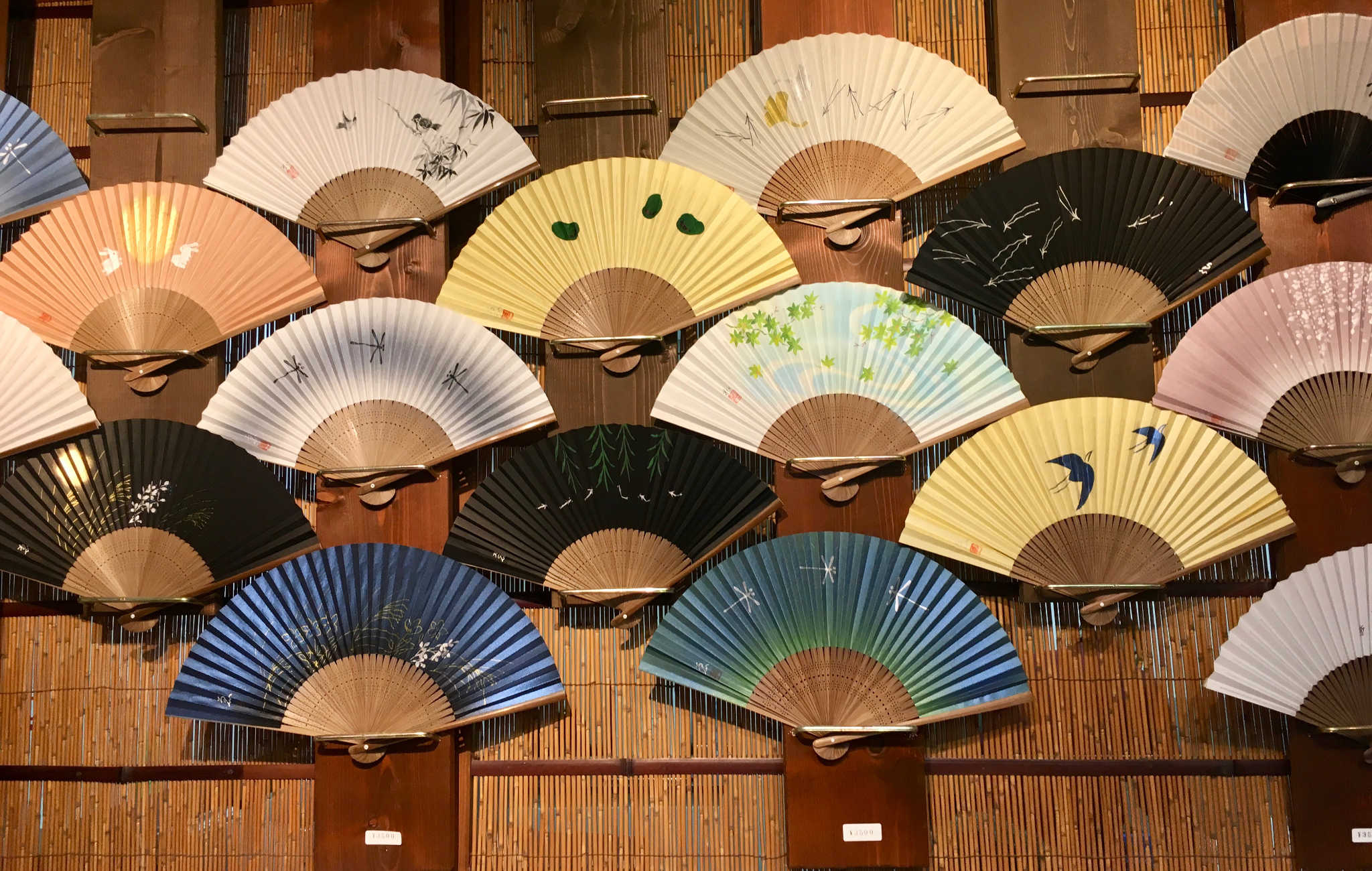 Les éventails, une autre spécialité à découvrir à Kyoto