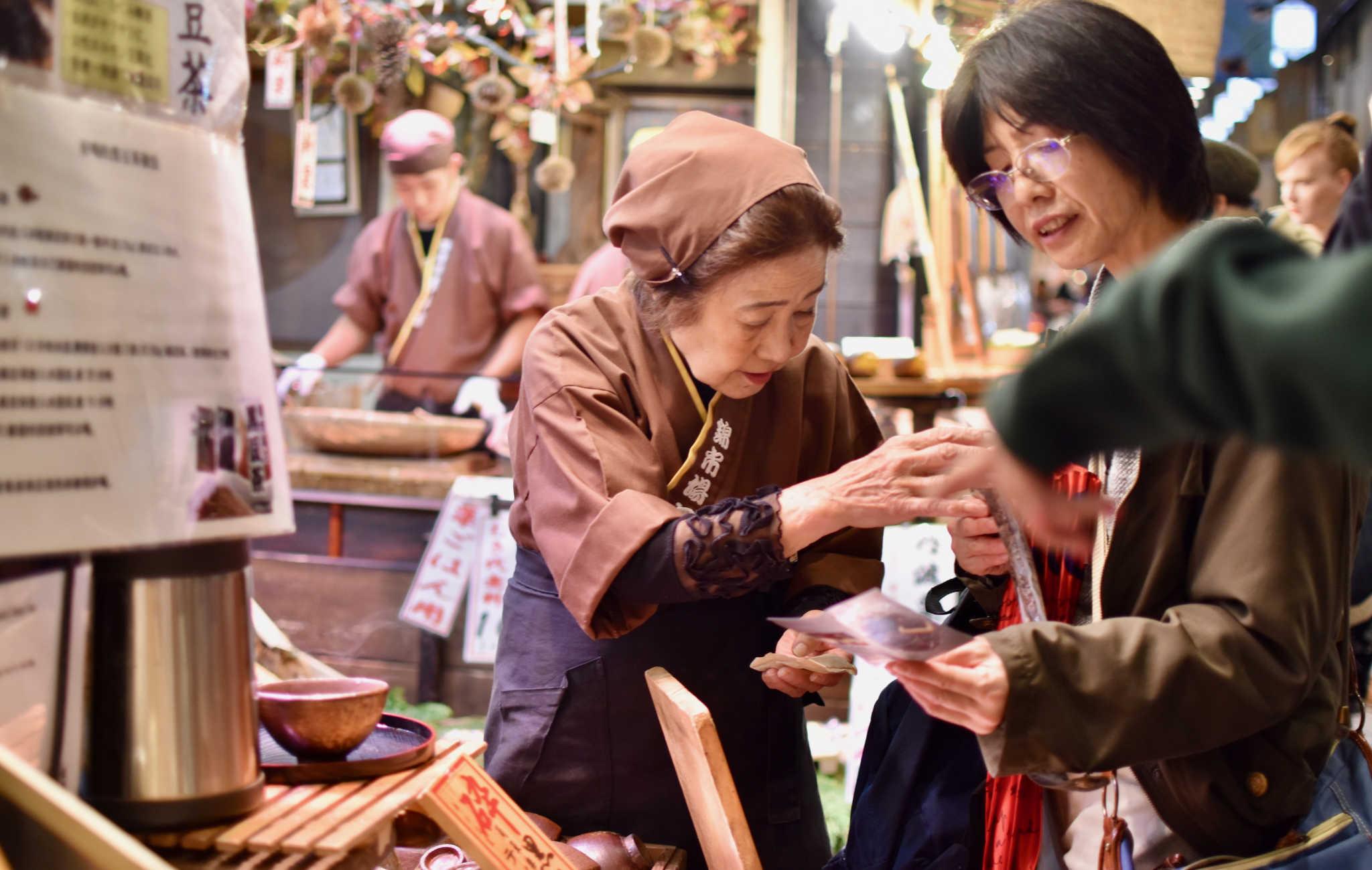 Les japonais viennent y faire leurs courses pour préparer les repas