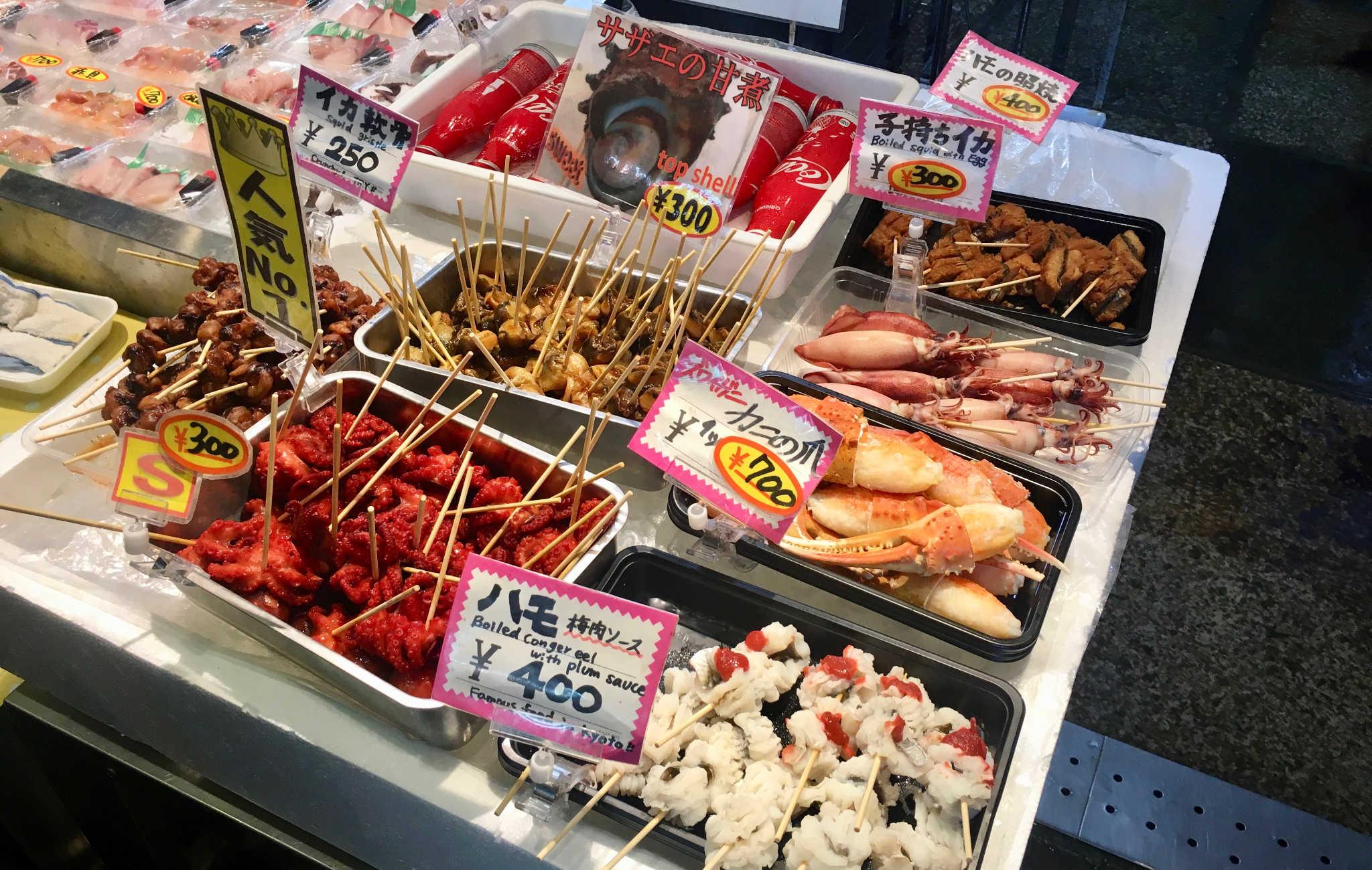 Du poulpe et autres crustacés