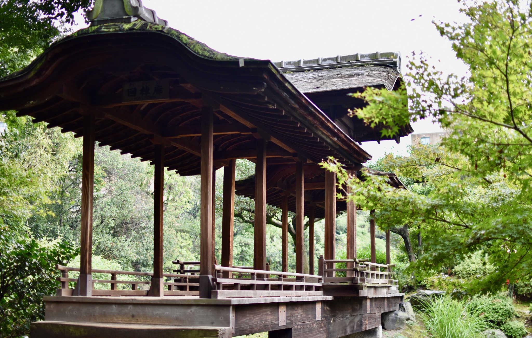 Le pont couvert Kaito-ro