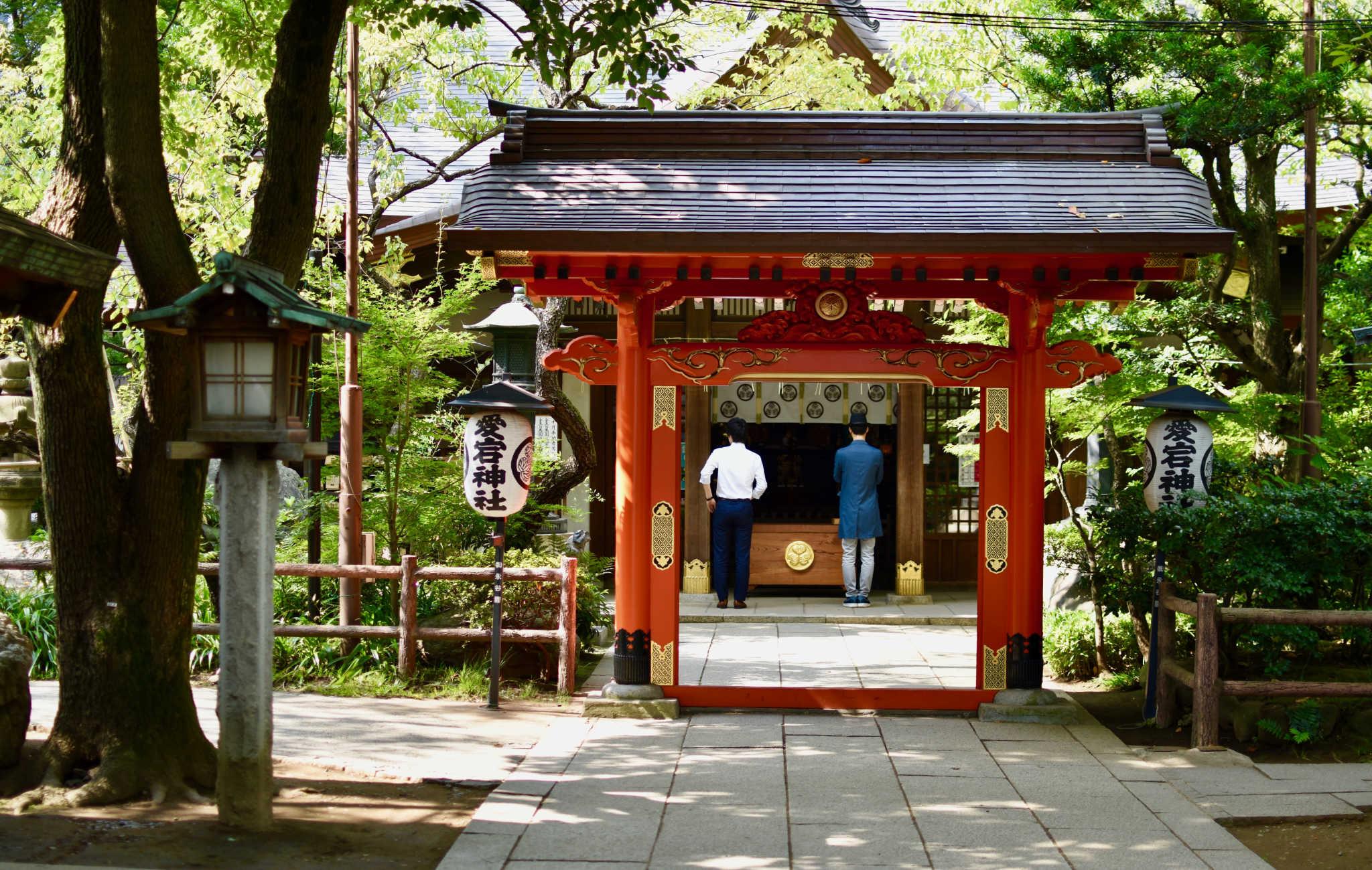 La porte qui mène au principal lieu de prière