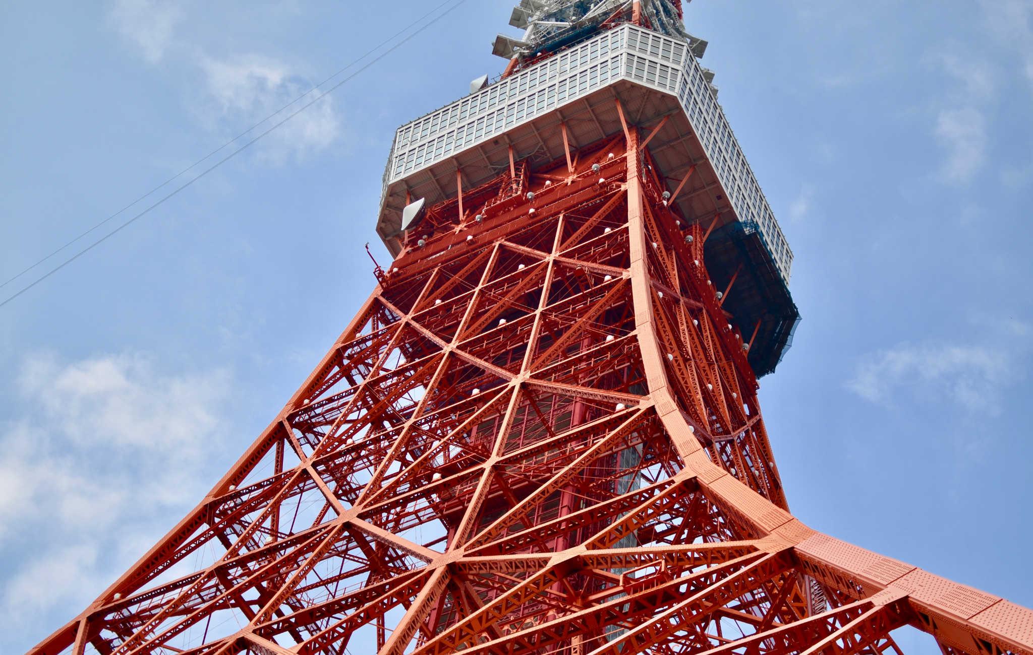 La Tokyo Tower est une réplique de notre Tour Eiffel