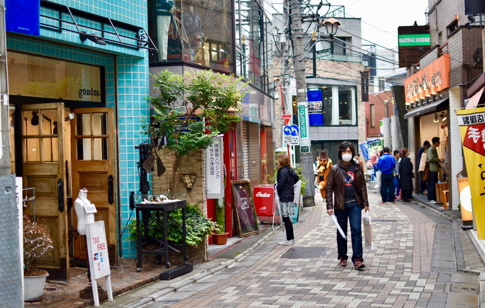 Une petite rue plus tranquille
