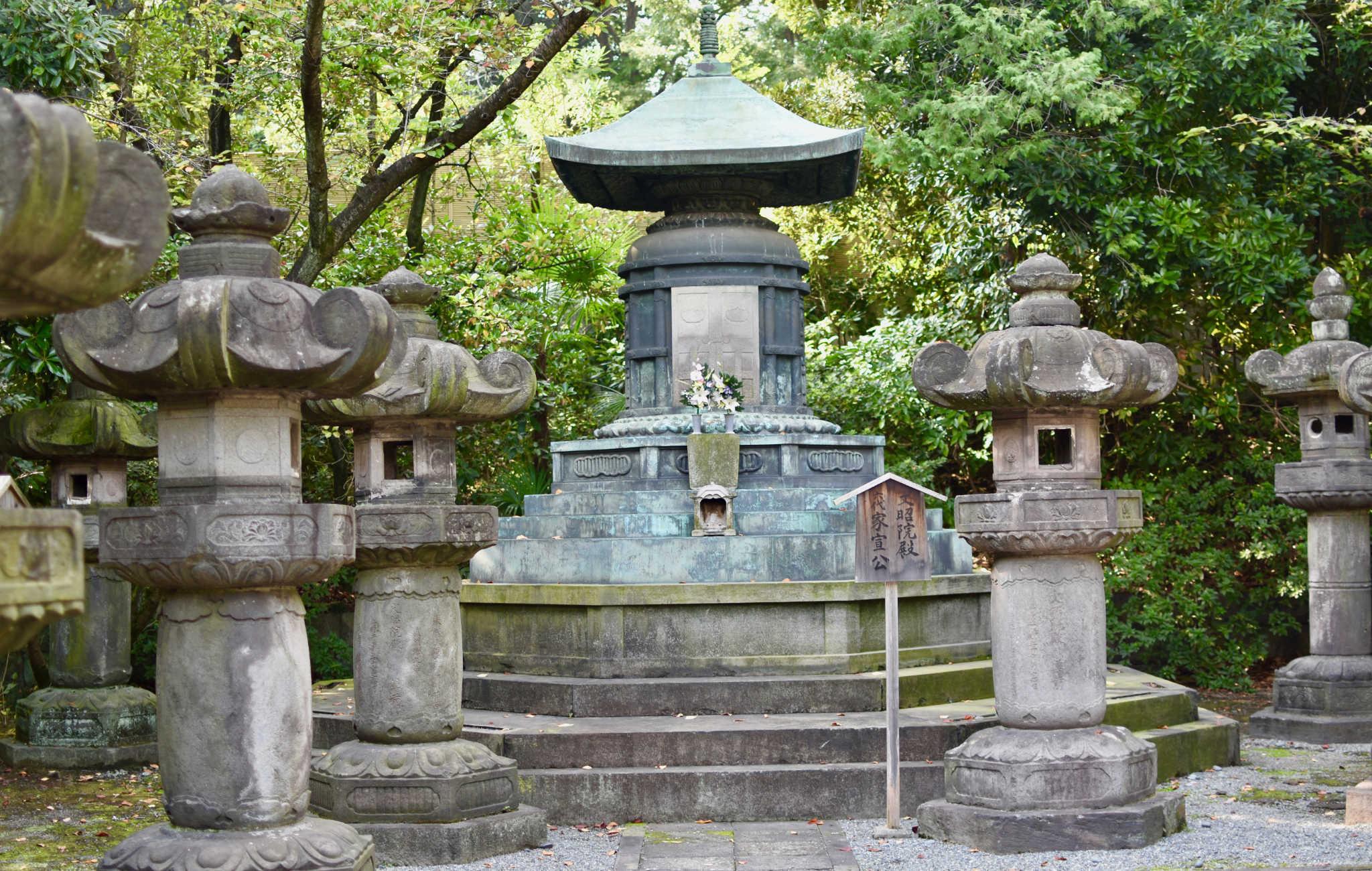 Le mosolée de la famille Tokugawa