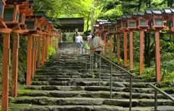 Kibune au nord de Kyoto, un village historique
