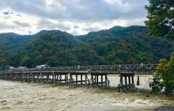 Arashiyama, le quartier nature à l'Ouest de Kyoto