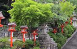 Randonnées dans les montagnes au nord de Kyoto, de Kurama à Kibune