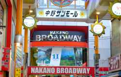 Nakano Broadway, shopping manga et kawaii