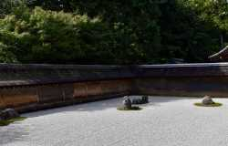 Ryoan-ji, le célèbre jardin sec de Kyoto
