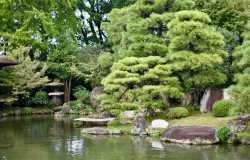 Shosei-en : le jardin discret du Higashi Hongan-ji